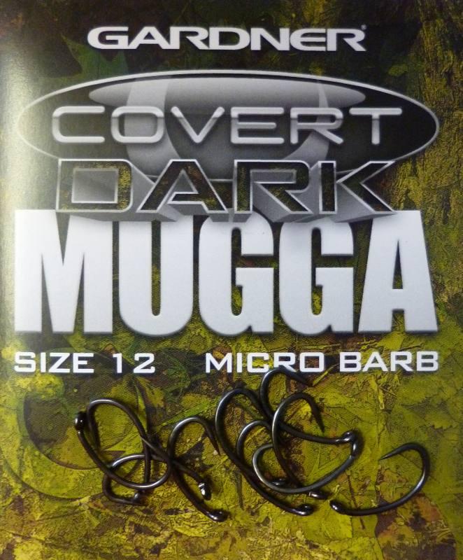 NEW Gardner Covert Dark Mugga Hooks *Barbed various sizes*